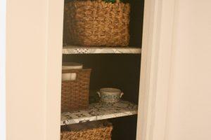 baskets for bathroom decor