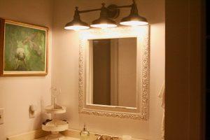 vintage inspired bathroom lighting
