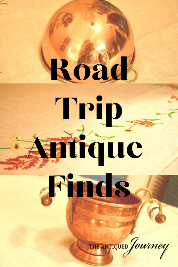 antique home decor found on a road trip