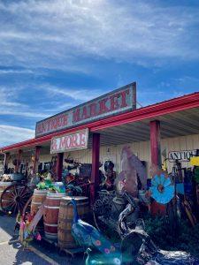 antique market in Bozeman MT