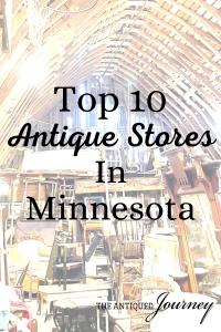 top 10 antique stores in Minnesota