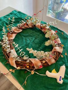 diy fall grapevine wreath