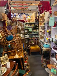 booth at father time antiques