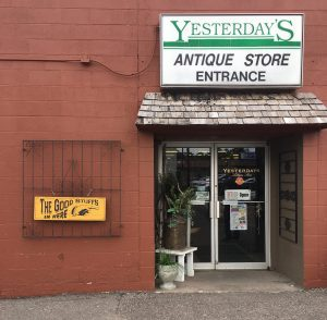 storefront of yesterday's